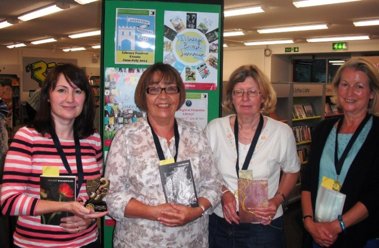 Witches of Caldicot - quiz night at Chepstow Library